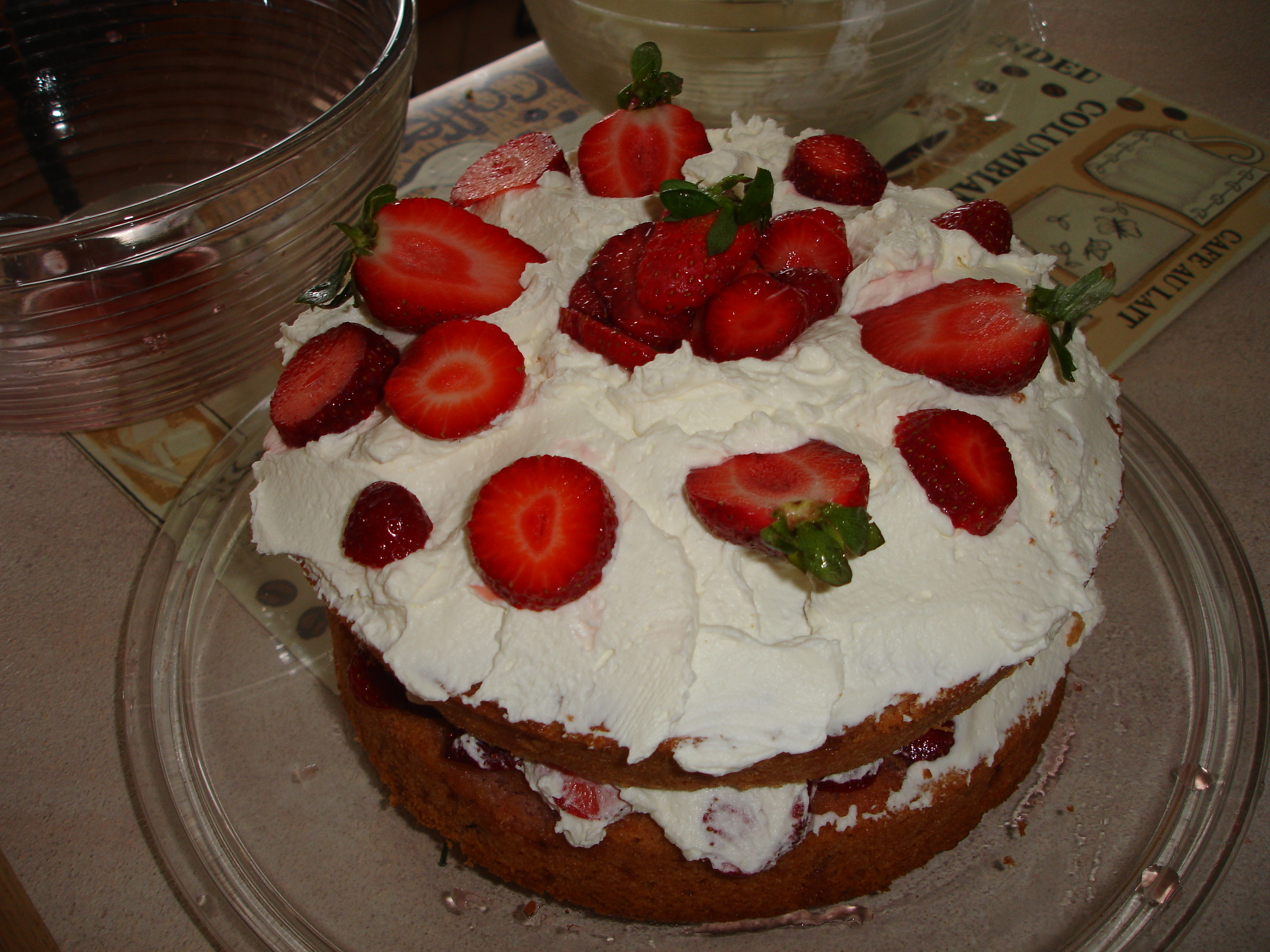 cuban food strawberry cake