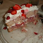 cuban spices strawberry cake